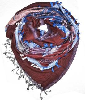 Elabore Modal Jamawar Shawl Wool Woven Women's Shawl