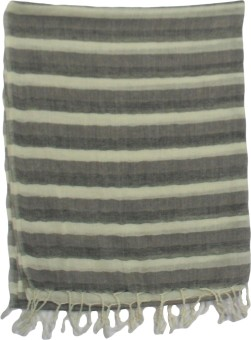 Shawls Of India Wool Striped Women's Shawl