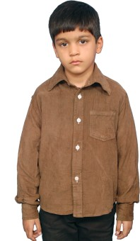 Fashion N Style Boy's Solid Casual Shirt