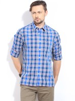 Indian Terrain Men's Checkered Casual Shirt