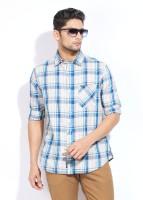 Indian Terrain Men's Checkered Casual Shirt - SHTDVJ97HYYEG2X3