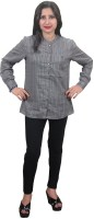 Indiatrendzs Women's Striped Casual Shirt