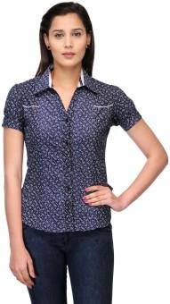 Fashion Cult Women's Printed Casual Shirt - SHTE4MQYGMFYTJAK