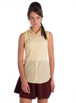 Co.in Women's Striped Casual Shirt