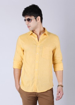 Compare Peter England Men Solid Casual Shirt: Shirt at Compare Hatke