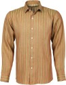 Roar And Growl Men's Striped Formal Shirt - SHTDR3SBKFUQHWUG