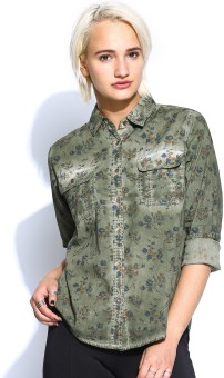 Noble Faith Women's Printed Casual Shirt