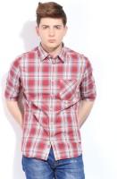 Indian Terrain Men's Checkered Casual Shirt