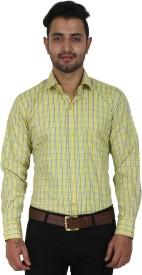 Crocks Club Men's Checkered Formal Multicolor Shirt