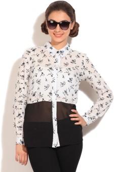 Vero Moda Women's Printed Casual Shirt