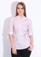 Park Avenue Women's Printed Formal Shirt