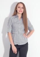 Park Avenue Women's Checkered Formal Shirt