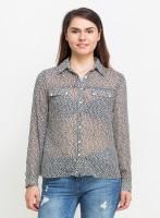 Oxolloxo Women's Printed Casual Shirt - SHTE2JZSGTYWCZTU