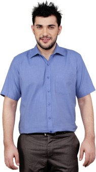 Zeal Cotton Men's Solid Formal Shirt