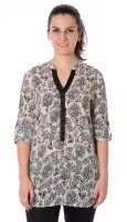 Urban Religion Women's Printed Casual Shirt - SHTDWPYWVY74T9PZ