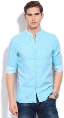 Bossini BOSSINI Men's Solid Casual Shirt (Multicolor)