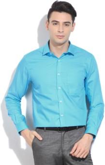 Peter England Men's Solid Formal Shirt