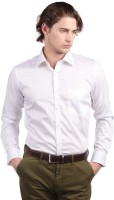 Black Coffee Men's Solid Formal Shirt