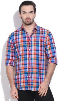 Arrow Sport Men's Checkered Casual Shirt - SHTE44SZNX8ZWBGN
