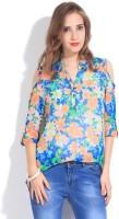 Remanika Women's Floral Print Casual Shirt