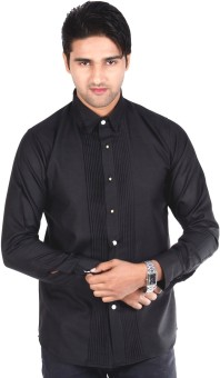S9 Men Men's Solid Formal, Wedding, Party Shirt