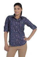 Fast N Fashion Women's Floral Print Casual Shirt
