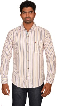 Classy Casuals Men's Striped Casual Shirt