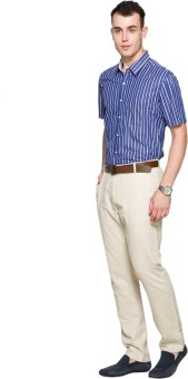 Max Men's Striped Casual Shirt
