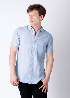 Compare Locomotive Men Solid Casual Shirt: Shirt at Compare Hatke