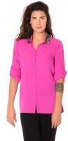Urban Religion Women's Solid Party Shirt