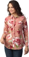Love From India Women's Floral Print Casual Shirt