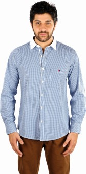 White House Sport Men's Checkered Casual Shirt