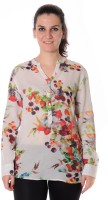 Urban Religion Women's Printed Casual Shirt - SHTDWPYUYGUWVDHY