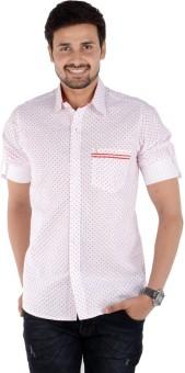 S9 Men Men's Self Design, Printed Casual, Party, Festive Shirt - SHTEBACEYC5AHVMY
