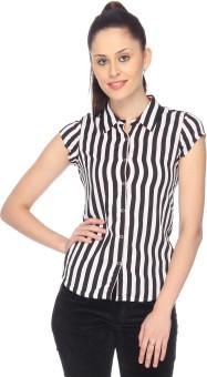 Identiti Women's Striped Casual Shirt