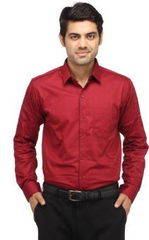 Perrie Curtis Men's Solid Casual Shirt