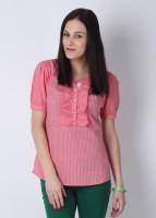 Numero Uno Women's Striped Casual Shirt