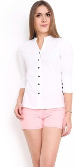 Protext Women's Solid Casual Shirt