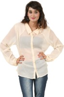 Hypernation Women's Solid Casual, Party Shirt - SHTEYQHFZH2G6Z5C