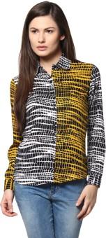 Abiti Bella ABSH0303 Women's Graphic Print Casual Shirt