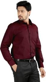 Sttoffa Men's Solid Formal Shirt