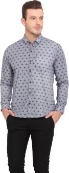Ennoble Men's Printed Casual Shirt