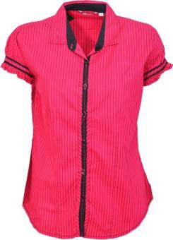Avenster Peppery Striper Women's Striped Casual Shirt