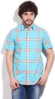 Gant Men's Striped Casual Blue, Pink Shirt