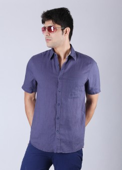 Compare Scullers Men Solid Casual Shirt: Shirt at Compare Hatke