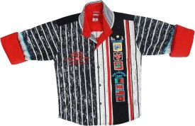 Kooka Kids Boy's Striped Casual Shirt