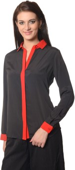 Meira Women's Solid Party Shirt - SHTE2FCTDKHGT8KD