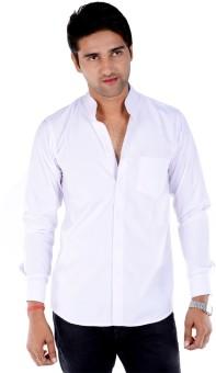 S9 Men Men's Solid Casual, Wedding, Party Shirt