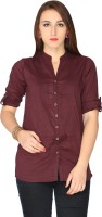 Max Women's Solid Casual Shirt