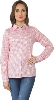 From The Ramp Women's Checkered Casual Shirt